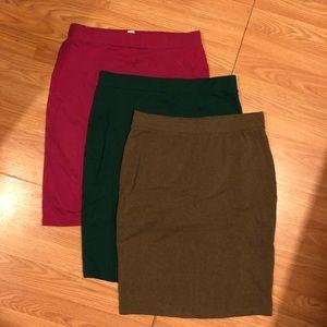 Pencil Skirts 😊
